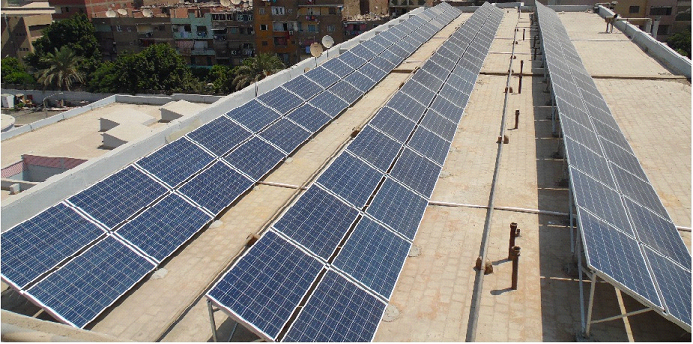 مشروع لتركيب محطة طاقة شمسية بالهيئة