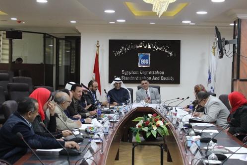 إنعقاد الإجتماع المشترك بين الهيئة السعودية للمواصفات والمقاييس والهيئة المصرية العامة للمواصفات والجودة